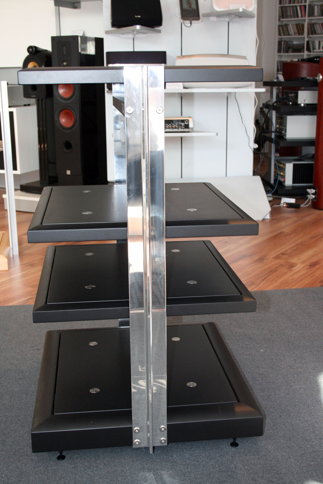 finite elemente pagode signature hifi rack 4 ebenen 85. Black Bedroom Furniture Sets. Home Design Ideas